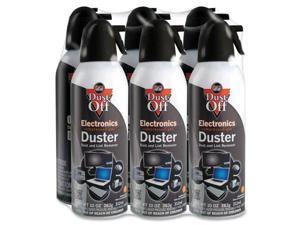 Falcon Dust-Off DPSXL6 XL Compressed Gas Duster Moisture-free - Black