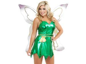 womens xs 3 5 sexy naughty green tinker bell or peter pan costume
