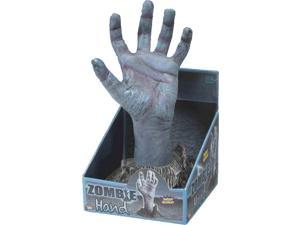 Deluxe Grey Blue Zombie Costume Hand Rising from Ground