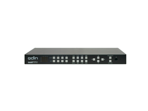 Qdin MVH-44 Seamless 4 x 4 HDMI matrix switch for 4K / 2 K  HDMI 2 x 2 Video Wall or 1080p HDMI 1 x 3 Video Wall and HDMI 1080p Multiview switch or Splitter