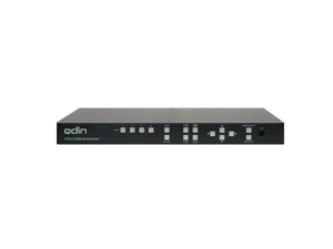 Qdin MVH-41 Multiview HDMI 1080p Switch with Full Screen, Dual View,Quad View, PiP, PAP and Windows mode