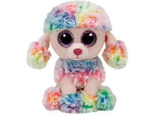 """TY Beanie Boos 6"""" - Rainbow Dog Reg"""