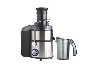 Brentwood JC-500 800 Watt Power Juice Extractor- Stainless & Black