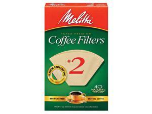 Melitta Filter #2 Natural 3001-5051