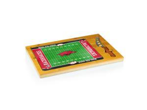 Football Icon University of Arkansas Razorbacks Cheese Tray