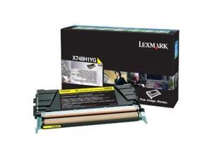 Lexmark Yellow Toner Cartridge (1)