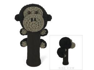 StitchHead Hand Stitched Yarn Animal Driver/Wood Head Cover - Gorilla
