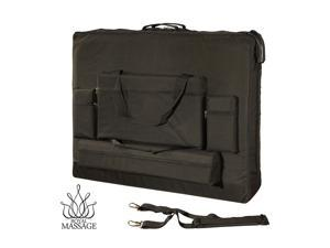 """Royal Massage Deluxe Black Universal Oversized Massage Table Carry Case - 28"""""""