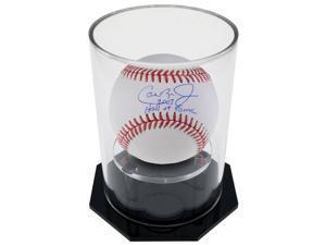 OnDisplay Deluxe UV-Protected Baseball/Tennis Display Case - Round Black Base