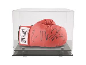 OnDisplay Deluxe UV-Protected Boxing Glove Display Case - Black Base
