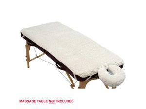 Royal Massage Universal Fleece Pad Sheet Set - Face Cover and Sheet
