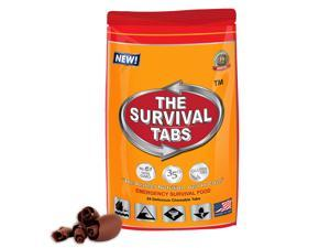 Meals Ready To Eat (MRE) Survival Tabs for 2 days - Chocolate Flavor (24 tabs)