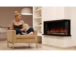 "Modern Flames Landscape Pro Multi-Sided Built-In 44"" Electric Wall Fire Place"