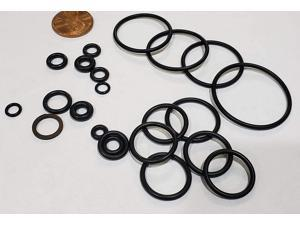 AR Blue Clean Ar2767 Replacement O Ring Set, Black