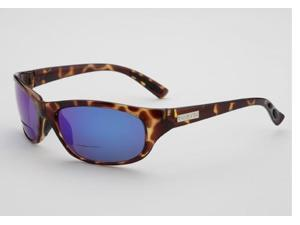 Onos Carabelle 104BG225 BLUE MIRROR Lens Polarized 2.25 Bifocal Sunglasses