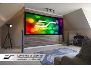 "Elite Screens Spectrum ELECTRIC100H-AUHD Electric Projection Screen - 100"" - 16:9 - Wall/Ceiling Mount"