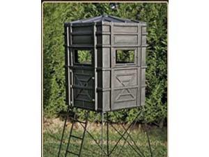 Hughes HP-67000 Hunting Ground 4x4 The Enforcer Box Blind w/ Window Kit