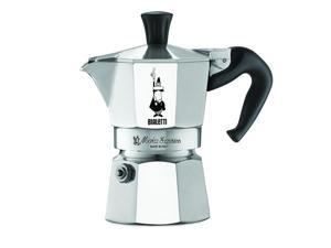 The Original Bialetti Moka Express Made in Italy 1-Cup Stovetop Espresso Make...