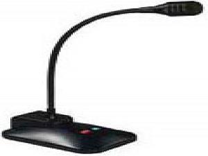 Bogen Communications Ddu250 Desktop Microphone, Dynamic, Uni-Dir, Push-Talk/Lock