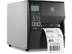 "Zebra ZT230 4"" Industrial Thermal Transfer Label Printer, LCD, 300 dpi, Serial, USB, ZPL, XML Support, US Cord - ZT23043-T01000FZ"