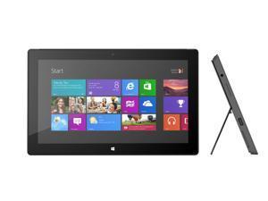 "Microsoft Surface Pro 2 (1601) - 10.6"" 4GB, 128GB Wi-Fi Dark Titanium Grade A"