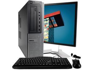 Dell Gray Optiplex 990 Desktop Intel i5 Dual Core 3.1GHz 4GB RAM 250GB HDD Intel HD Graphics 2000 DVD-ROM Windows 10 Home 19'' Display Keyboard Mouse