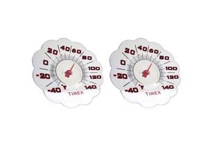 Timex 7-Inch Suction Cup Window Thermometer, Set of 2
