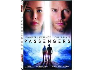 Passengers DVD Jennifer Lawrence, Chris Pratt