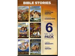6 Animated Bible Stories Movie Pack Vol. 2 DVD