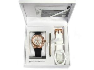 TechnoMarine 115044 Unisex Cruise Original Chronograph Antique Silver Dial Watch