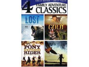 Baker's Hawk / Rugged Gold / Pony Express Rider DVD Clint Walker, Burl Ives