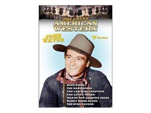 The Great American Western DVD 7-Films John Wayne NEW