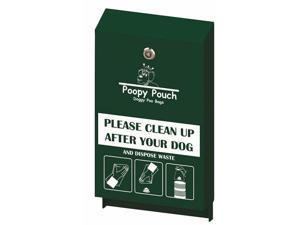 Crown Products CPPHDSP Pouch Pet Waste Header Bag Dispenser, Hunter Green