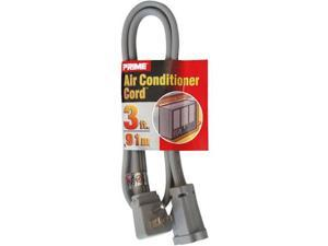 36 Pcs - Prime Air Conditioner and Major Appliance Extension Cord, Gray, 3 Feet