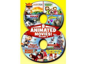 8 Animated Movies!, Vol 3 DVD