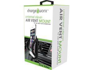 Chargeworx Clip-on Air Vent Swivel Mount for use with most smartphones