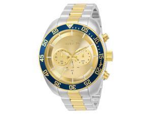 Invicta Men's 48mm Pro Diver 30057 Quartz Chronograph Stainless Steel Watch
