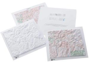 Hubbard Scientific Topographic Map Reading Kit