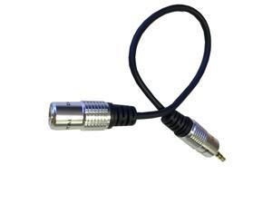 0.3M 3.5mm 1/8 male To female plug extension Audio OFC Cable Ipod Mp3