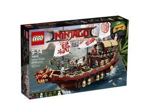 LEGO The Ninjago Movie Destiny's Bounty 70618
