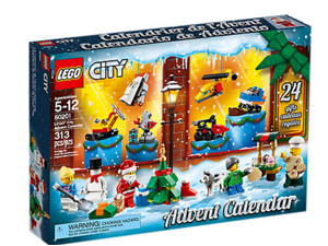 LEGO City 60201 Kid Children's Toy Set 24 Day Advent Calendar Holiday Gift Box