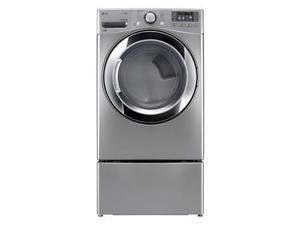 Lg  DLGX3371V:  7.4  cu.  ft.  Ultra  Large  Capacity  SteamDryer  w/  NFC  Tag  On  (Gas)