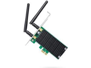 TP-Link AC1200 PCIe Wireless Wifi PCIe Card | 2.4G/5G Dual Band Wireless PCI Express Adapter | Low Profile, Long Range Beamforming Heat Sink Technology | Supports Windows 10/8.1/8/7/XP (Archer T4E) (R