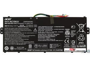 Acer KT.00303.017 Laptop Battery for Chromebook 11 C738T - 10.8 Volts - 3490mAh (36Wh) - 3-cell - Lithium-ion - Black