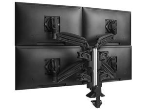Chief KXC420B Kontour Desk Mount for Monitor, All-in-One Computer - Black - 4 Monitor(s) Supported30