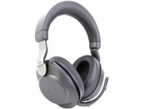 Jabra Evolve2 85 Headset - Stereo - Wireless - Bluetooth - Over-the-head - Binaural - Supra-aural - Black