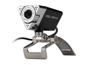 Aluratek AWC01F Video Conferencing Camera - 2 Megapixel - 30 fps - Black - USB 2.0 - 15 Megapixel Interpolated - 1920 x 1080 Video - CMOS Sensor - Manual Focus - Microphone - Notebook, Computer