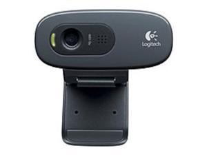 Logitech C270 3 Megapixels HD Webcam - 720p Video - Widescreen - USB 2.0 Interface - Black