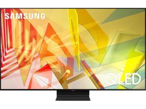 SAMSUNG Q90T QN55Q90TAF 55-Inch 4K Ultra HD HDR QLED Smart TV - 2160p - HDR 10+ - Amazon Alexa - Google Assistant - Titan Black