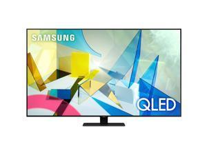 "Samsung QN75Q80TAF 74.5"" Smart LED-LCD TV - 4K UHDTV - Titan Black - Quantum Dot LED Backlight - Bixby, Google Assistant, Alexa Supported - Tizen - Dolby"